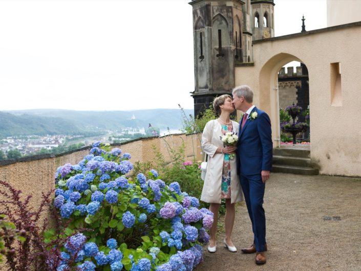 Hochzeit Isabel & Thomas, Schloss Stolzenfels, halber Tag