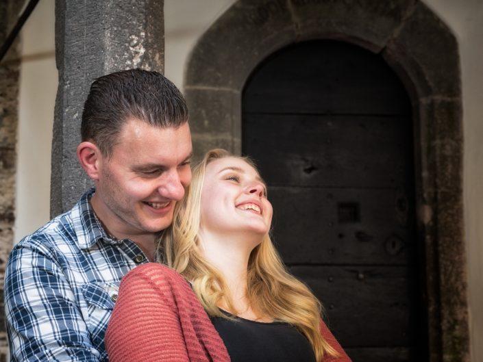 Erik & Anuk, romantischer Heiratsantrag auf der Burg Eltz