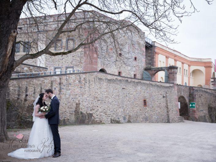 Marcel & Katrin, Winterhochzeit auf Festung Ehrenbreitstein