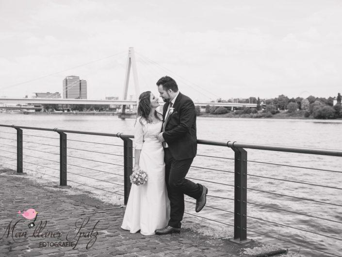 Hochzeit von Stefanie & Christian, Rheinanlagen Köln