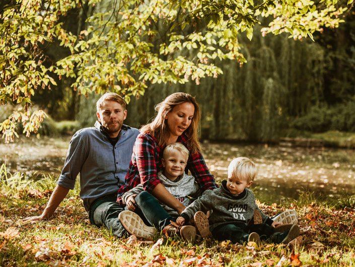 Herbstnachmittag mit der Familie