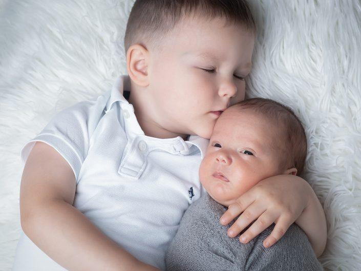Neugeborenen-Session mit Leonard